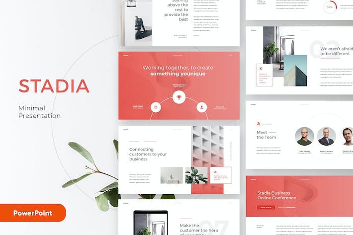 Thumbnail for STADIA - Saubere und minimale Powerpoint-Vorlage