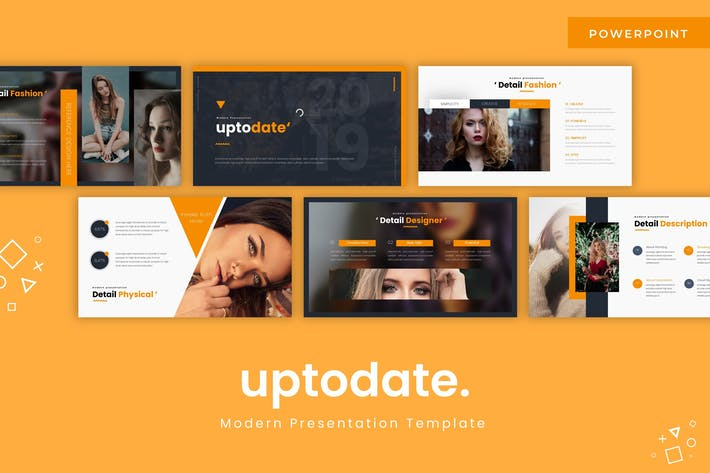 Thumbnail for Uptodate - Powerpoint Template