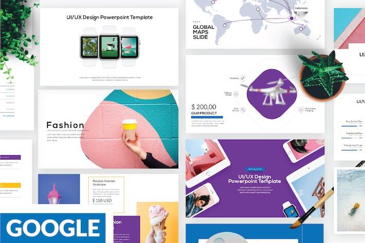 Thumbnail for Модный бизнес Google слайд - LS