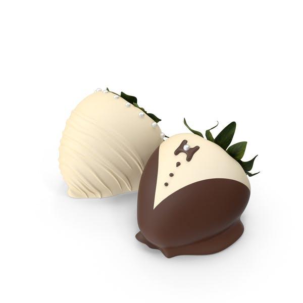 Cover Image for Schokolade überzogene Erdbeeren