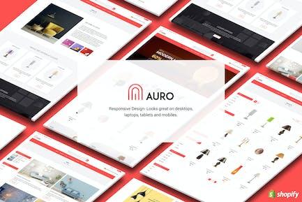 Auro | Висячие, декоративные огни Shopify Тема