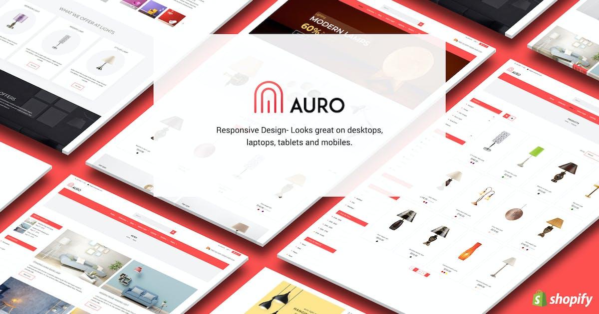 Download Auro | Hanging, Decorarive Lights Shopify Theme by BuddhaThemes