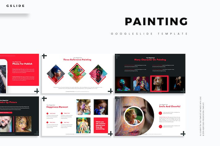 Thumbnail for Painting - Google Slides Template