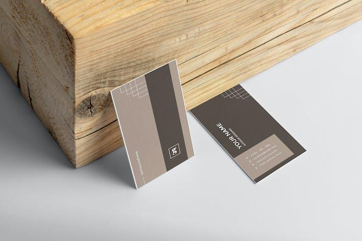 Mytemp - Minimalist Business Card v3