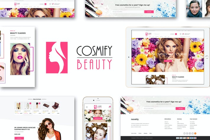 Thumbnail for Cosmify - Fashion Cosmetic Shopify Thème
