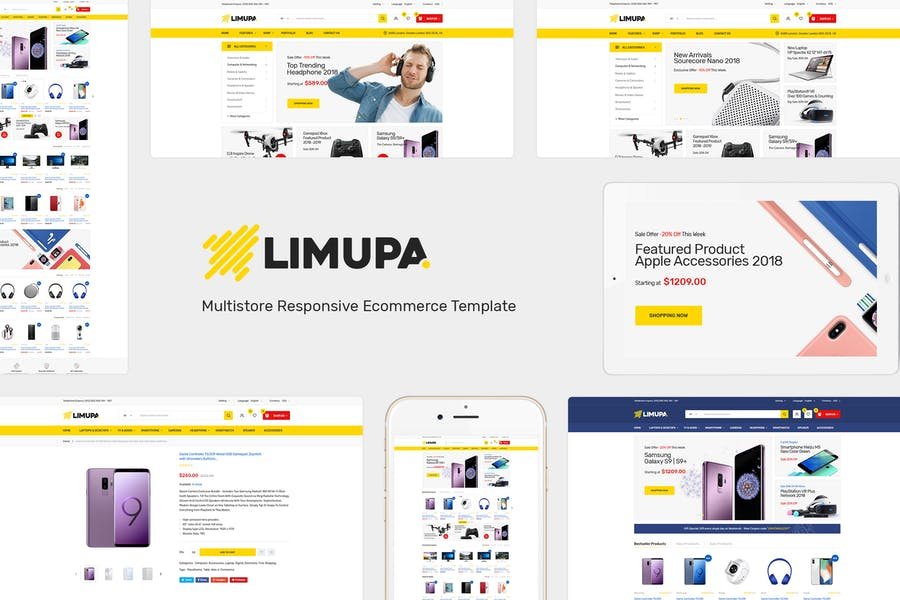 Limupa - Tecnología OpenCart Tema