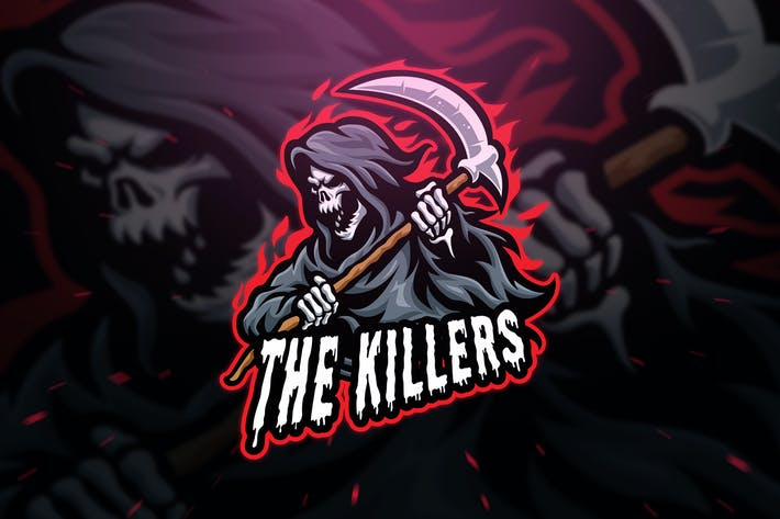 Thumbnail for The Killers Sport and Esport Logo Template