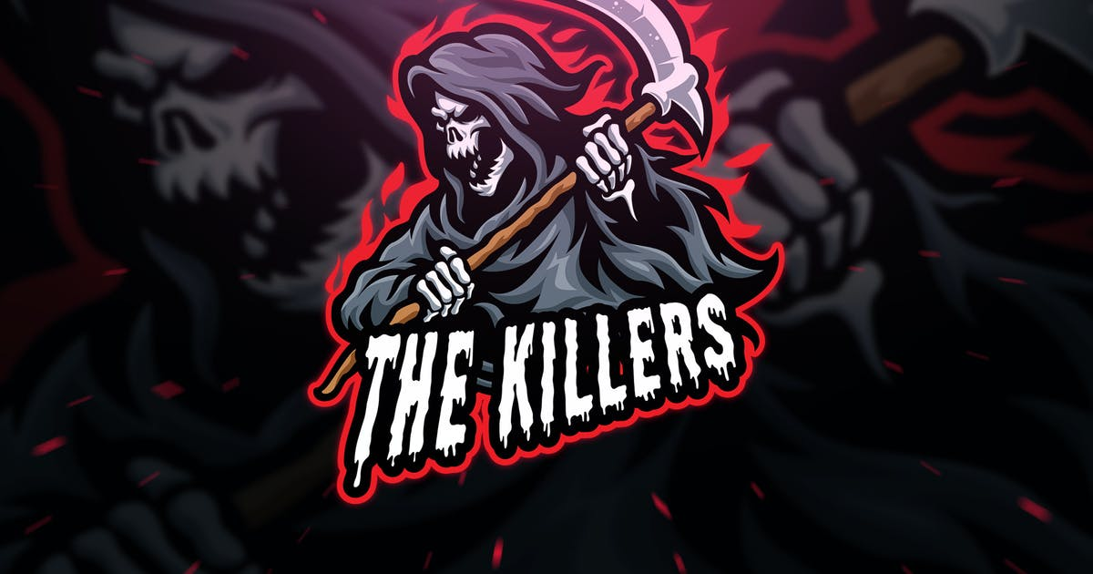 Download The Killers Sport and Esport Logo Template by Blankids