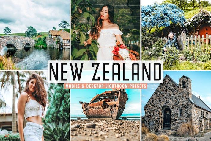 Thumbnail for New Zealand Mobile & Desktop Lightroom Presets