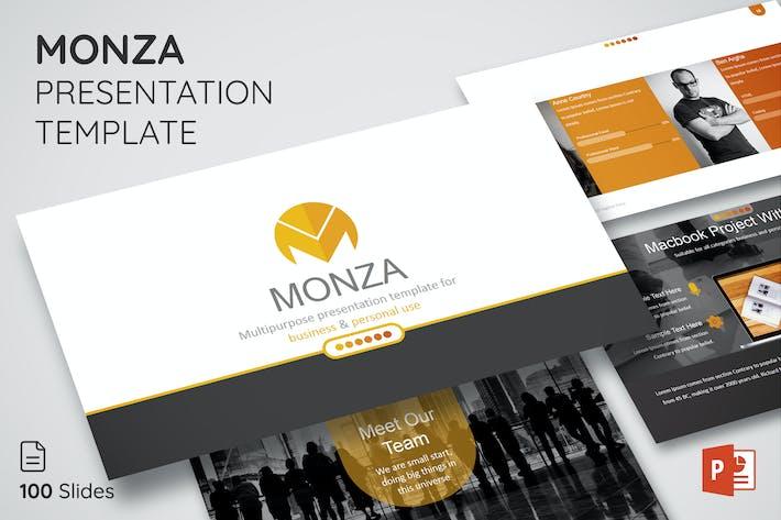 Thumbnail for Monza - PräsentationsVorlage - Sauber & Modern