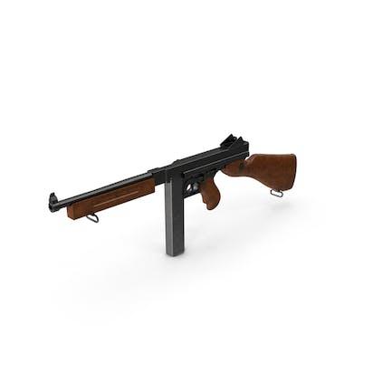 Submachine Gun Thompson M1A1 SMG
