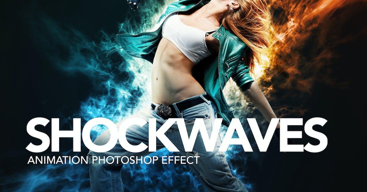 Download Shockwaves Animation Photoshop Action by sreda