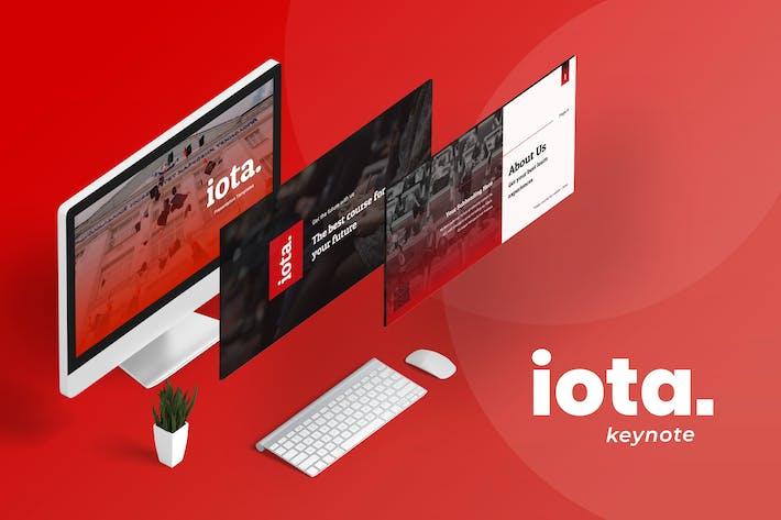 Thumbnail for Iota Education Keynote Presentation