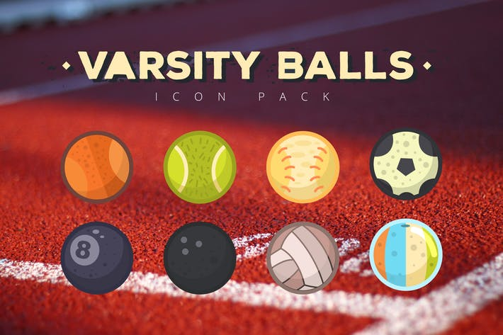 Thumbnail for Varsity Balls Icon Pack
