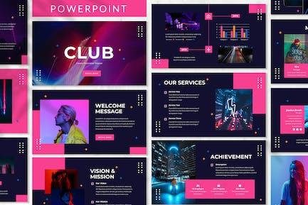 Club - Creative Powerpoint Template