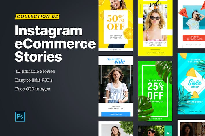 Thumbnail for eCommerce Instagram Story 2.0