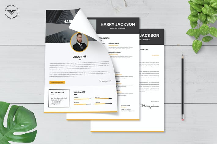 Thumbnail for Professional CV Template