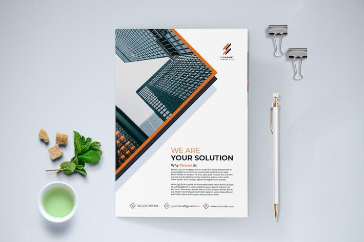 Thumbnail for Modern Brochure Bi-Fold