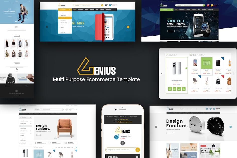 Download Genius - Multipurpose Responsive Prestashop Theme by posthemes