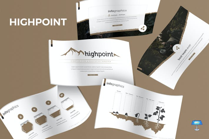 Cover Image For Highpoint - Keynote Template