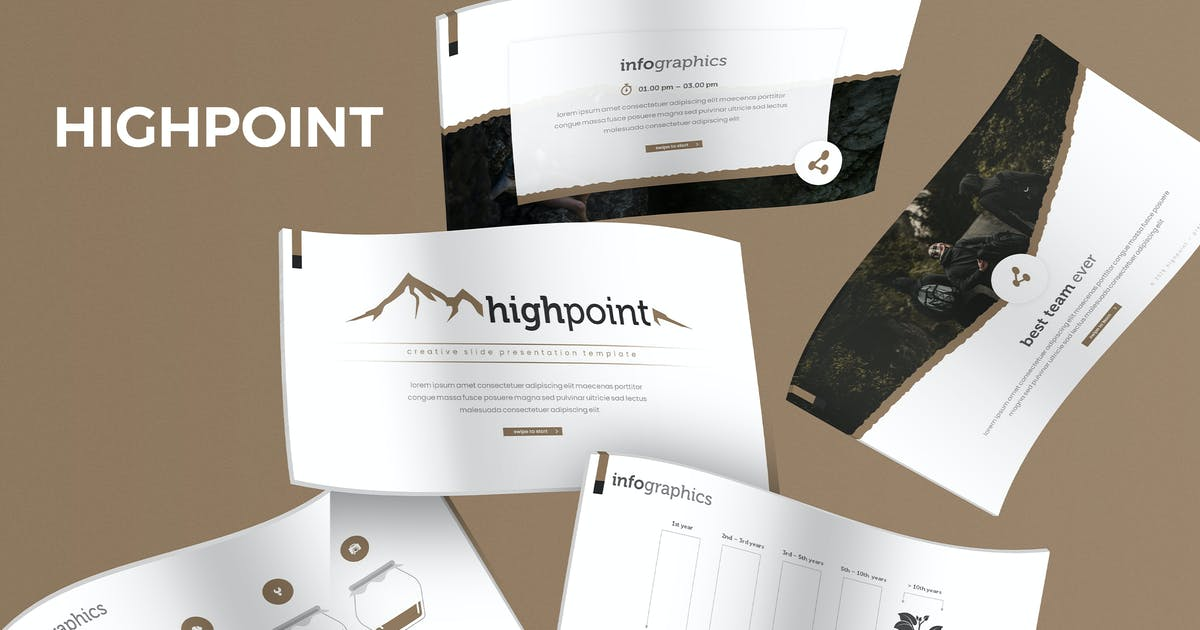 Download Highpoint - Keynote Template by aqrstudio