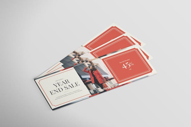 Fashion Year End Sale - Voucher Design