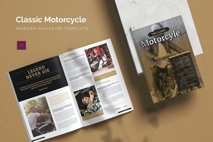Thumbnail for Classic Motorcycle - Magazine