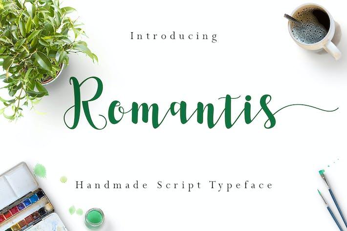 Thumbnail for Romantis Script