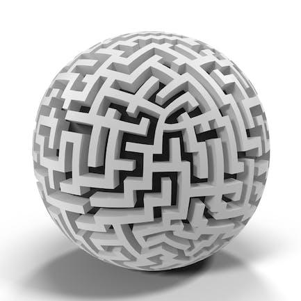Eckiges Labyrinth