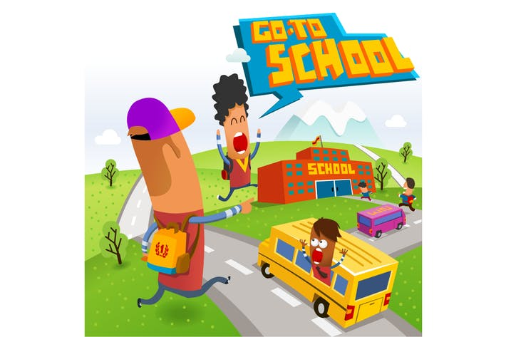 Thumbnail for Go to school after holiday