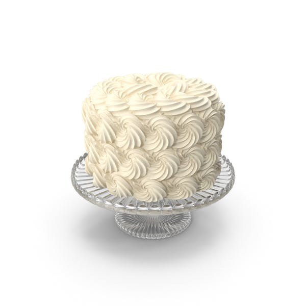 White Rose Swir Cake