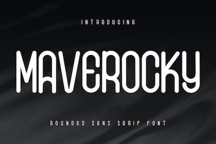 Maverocky - Fuente Sans Con serifa redondeada