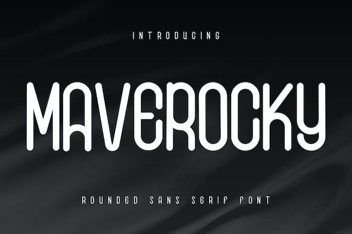 Thumbnail for Maverocky - Police sans serif arrondie