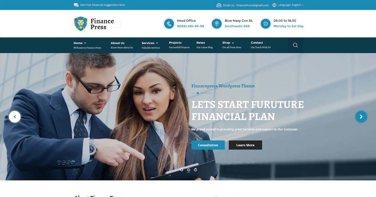 Download Finance Press - Consulting Business, Finance PSD by Unknow