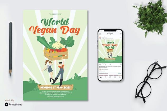 World Vegan Day - Flyer AS