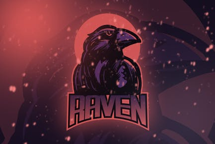 Raven Esport Logo Vol. 4