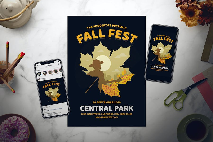 Fall Festival Flyer Set