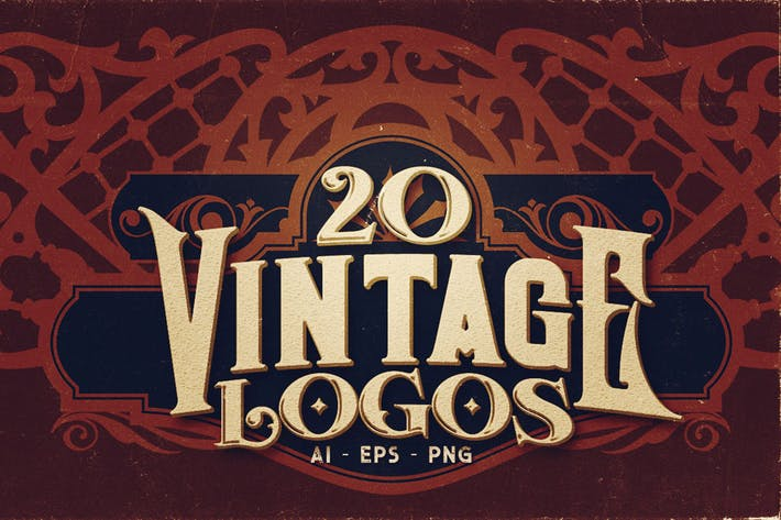 Thumbnail for 20 Vintage Logos