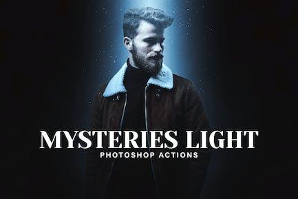 Suspense Lights Photoshop Acciones