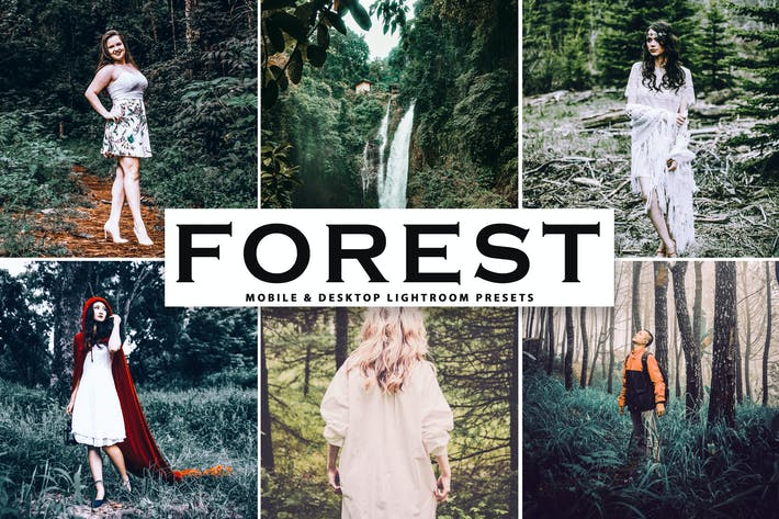 Thumbnail for Forest Mobile & Desktop Lightroom Presets