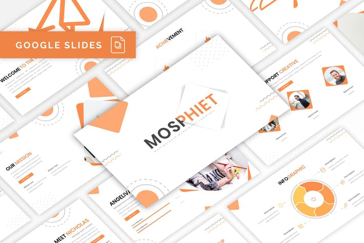 Thumbnail for Mosphiet - Multipurpose Google Slides Template