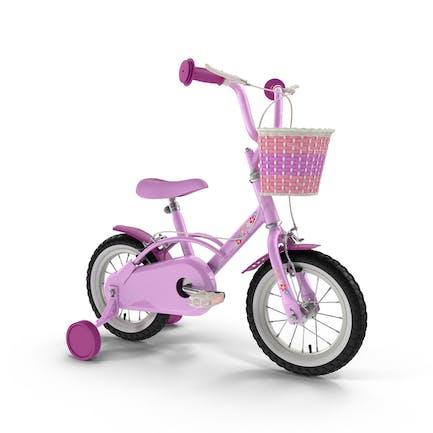 Маленькие девочки велосипед
