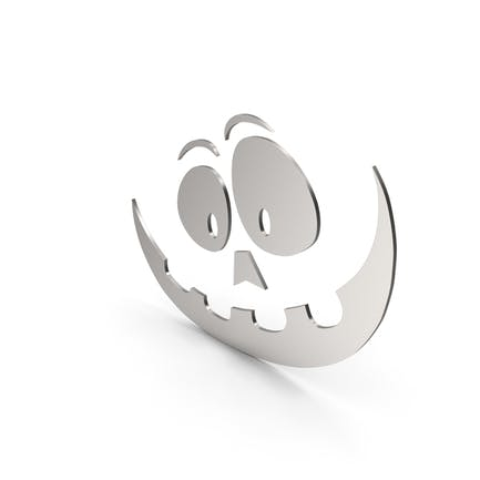 Pumpkin Figure Cartoony Metal