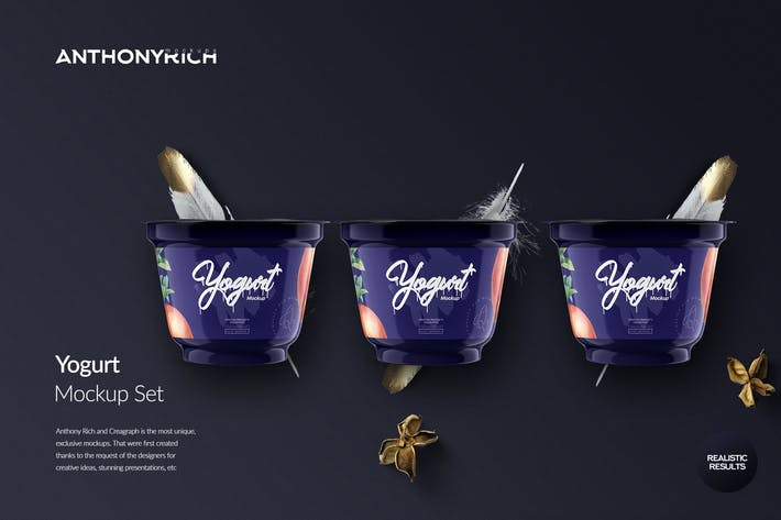 Thumbnail for Yogurt Mockup