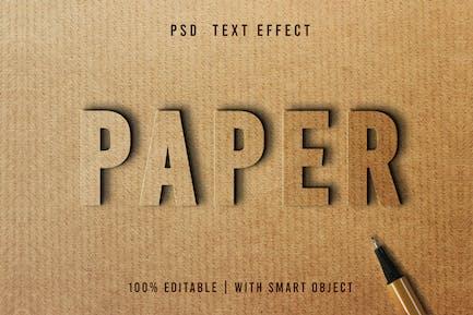 Paper - PSD Text Effect