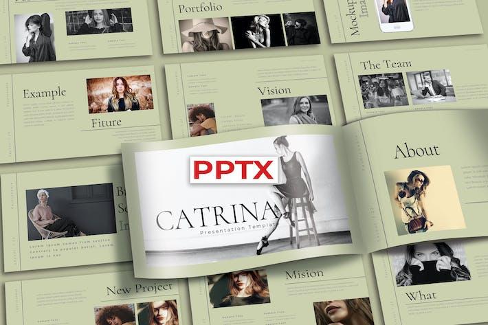 CATRINA - Шаблон Powerpoint