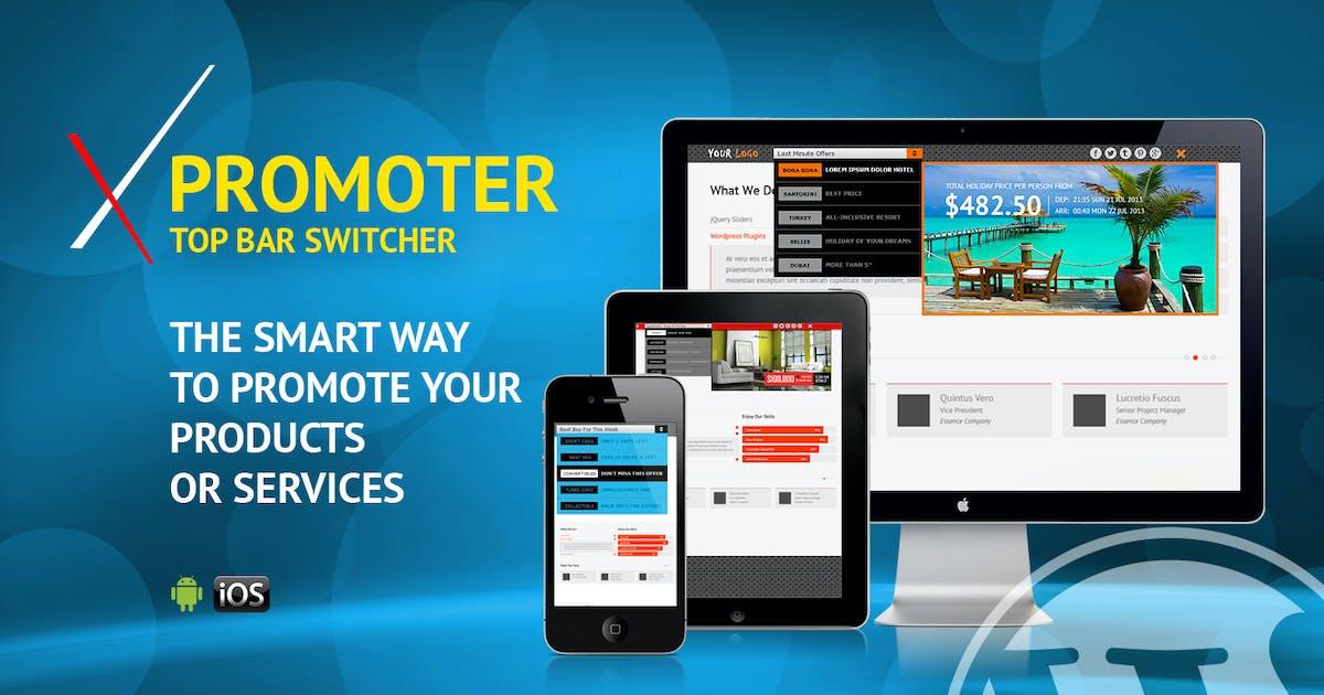 Download xPromoter - Top Bar Switcher Responsive WordPress by LambertGroup