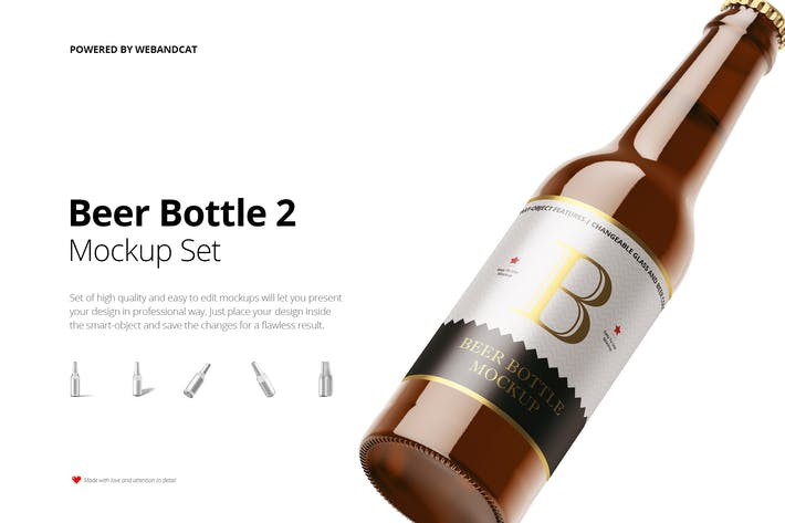 Thumbnail for Bierflasche Mockup 2