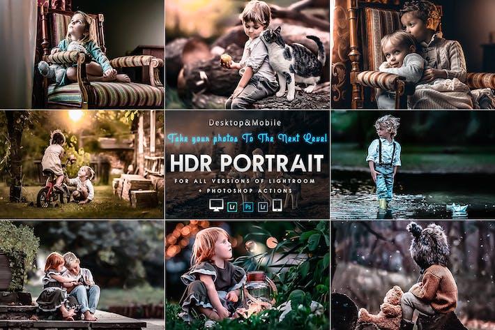 Thumbnail for ПортреПресеты HDR для мобильных и настольных устройств Lightr