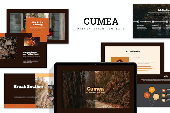 Thumbnail for Cumea : Fall / Autumn Season Keynote